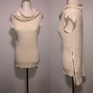 BLAYDE designer Hi/ Low Knit Top S
